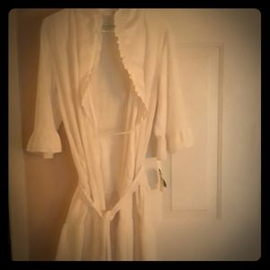 Brand new with tag bathrobe